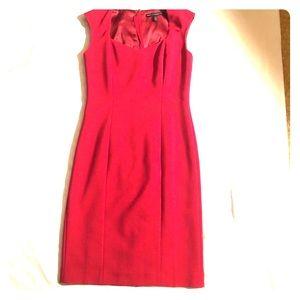 Gorgeous WHBM deep red dress!